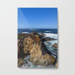 Sea Mount (Garrapata State Park) Metal Print