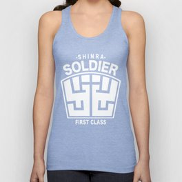 Final Fantasy VII - SOLDIER First Class Logo Unisex Tank Top