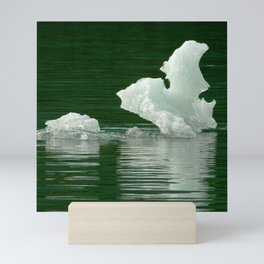 Alaskan Glacier's Exotic Pieces of Floating Ice Mini Art Print