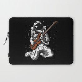 Astronaut Bass Guitarist Laptop Sleeve