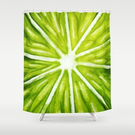 The Lime Shower Curtain