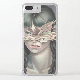 Vertices 03 Clear iPhone Case