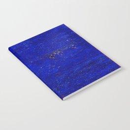 V11 Calm Blue Printed of Original Traditional Moroccan Carpet Notebook