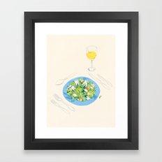 You've Got Some Teeth In Your Salad Framed Art Print