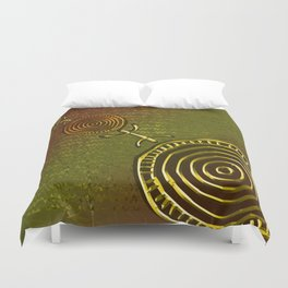 Ancestral Ornament 2C Duvet Cover