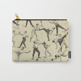 Antique Boxing Carry-All Pouch