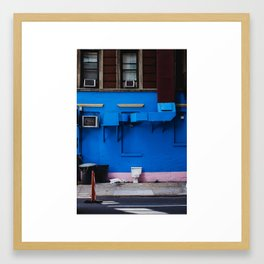 No Privacy Framed Art Print