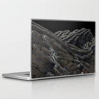 dark side of the moon Laptop & iPad Skins featuring Dark Side of the Moon by Lyle Hatch