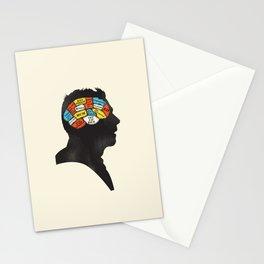 Shaun Phrenology Stationery Cards