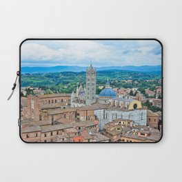 Siena, Italy - from above III Laptop Sleeve