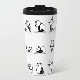 Panda Yoga Travel Mug