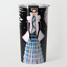 Ethereal Beauty Fashion Illustration By James Thomas Ryan Travel Mug