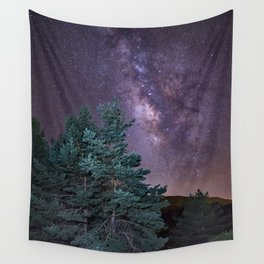 Milkyway at the mountains. Saggitarius and Rho Ophiuchus Wall Tapestry