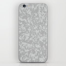 Zinc Plate Background iPhone Skin