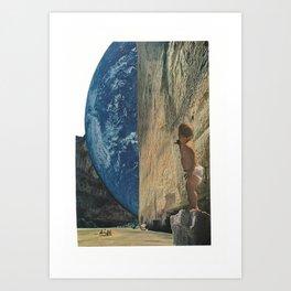 new worlds Art Print