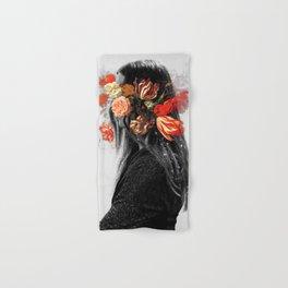Flower face Hand & Bath Towel