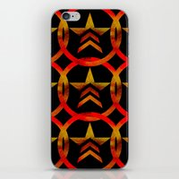mass effect iPhone & iPod Skins featuring Mass Effect Renegade by foreverwars