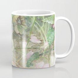 Toad with Cherry Blossom Petals Coffee Mug