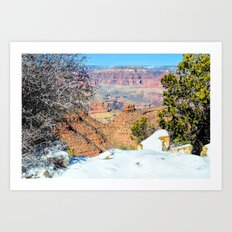 Winter Treat Art Print