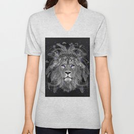 Don't Define Your World (Chief of Dreams: Lion) Tribe Series Unisex V-Neck