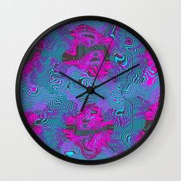 Aqua Melt Wall Clock