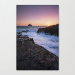 Magical Sunset III Canvas Print