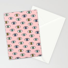 Eyes Pattern Stationery Cards