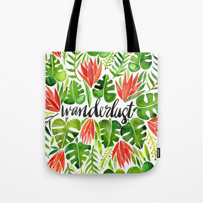 Tropical Wanderlust – Watermelon Palette Tote Bag