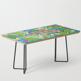 Colorful Jungle Coffee Table