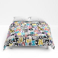 Alpha Pattern Comforters