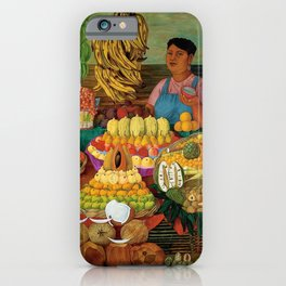 Las vendedoras de frutas by O. Costa iPhone Case