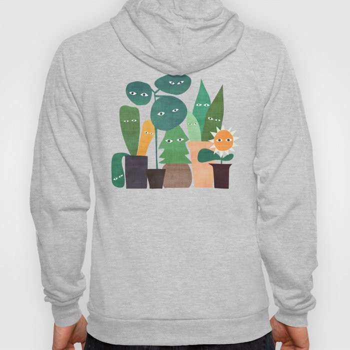 The plants are watching (paranoidos maximucho) Hoody