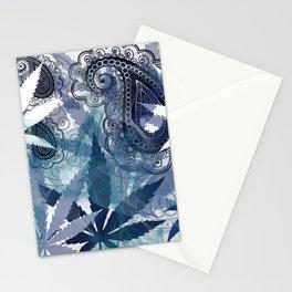 Hazy Blue Stationery Cards