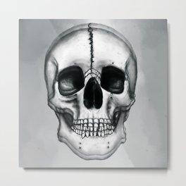 Skull Vibrations Metal Print