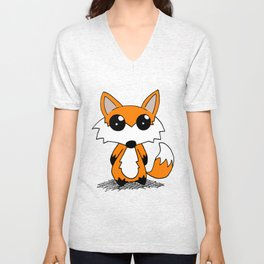 Force Fox Unisex V-Neck