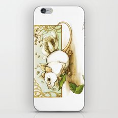 Wise Old Mouse iPhone & iPod Skin