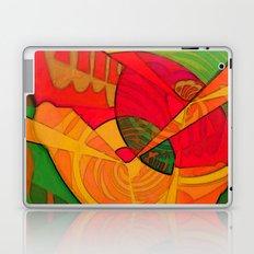 Tropical Farm Woman Laptop & iPad Skin