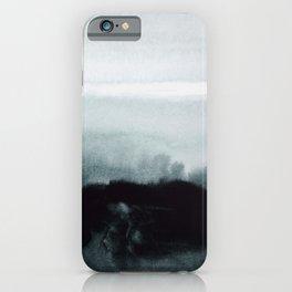 blurred landscape iPhone Case