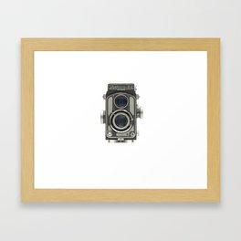 Vintage Camera (Yashica 44) Framed Art Print