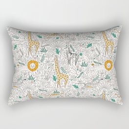 Safari Doodle Rectangular Pillow