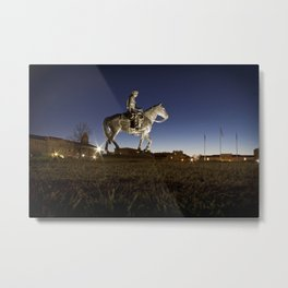 Will Rodgers and Soap Suds Metal Print