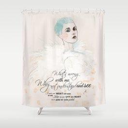 FASHION ILLUSTRATION 20 Shower Curtain