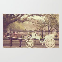 New Orleans Carriage Ride Rug