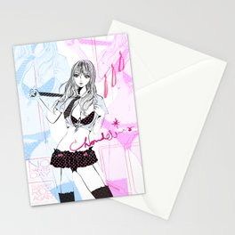 SUBWAY RIDE AGAIN Stationery Cards