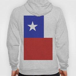 Chile flag emblem Hoody