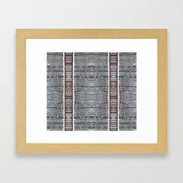 Lateral Framed Art Print