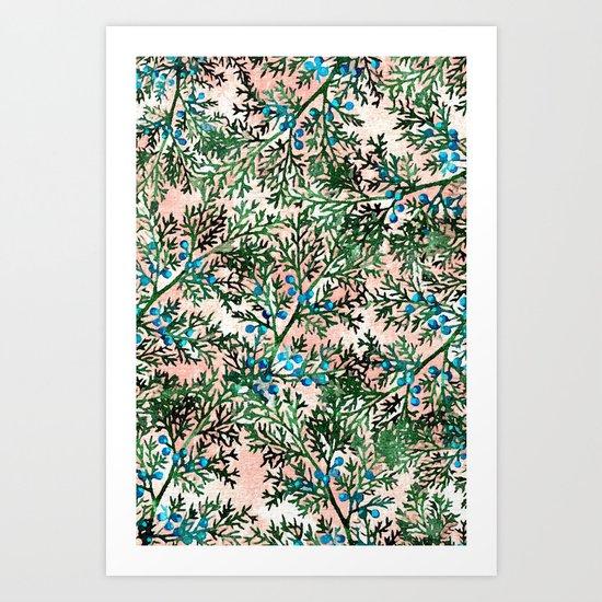 Botanical Watercolor Art #society6 #decor #buyart Art Print