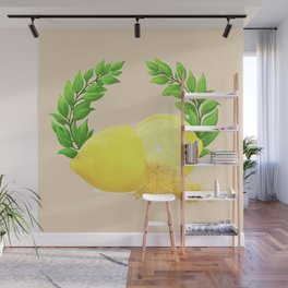When Life Gives You Lemons, You Paint That **** Gold Wall Mural