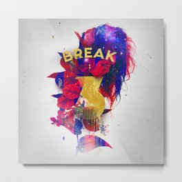 Break 3 Metal Print