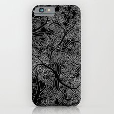 Tree Repeat Black iPhone 6s Slim Case